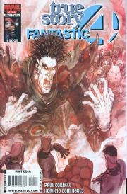 Fantastic Four True Story #4 (2008) Marvel comic book